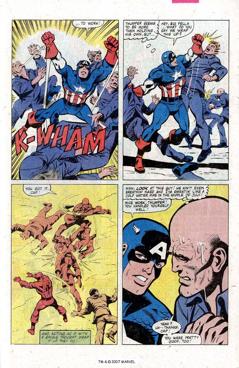 Captain America (1968) Issue #260 #175 - English 23