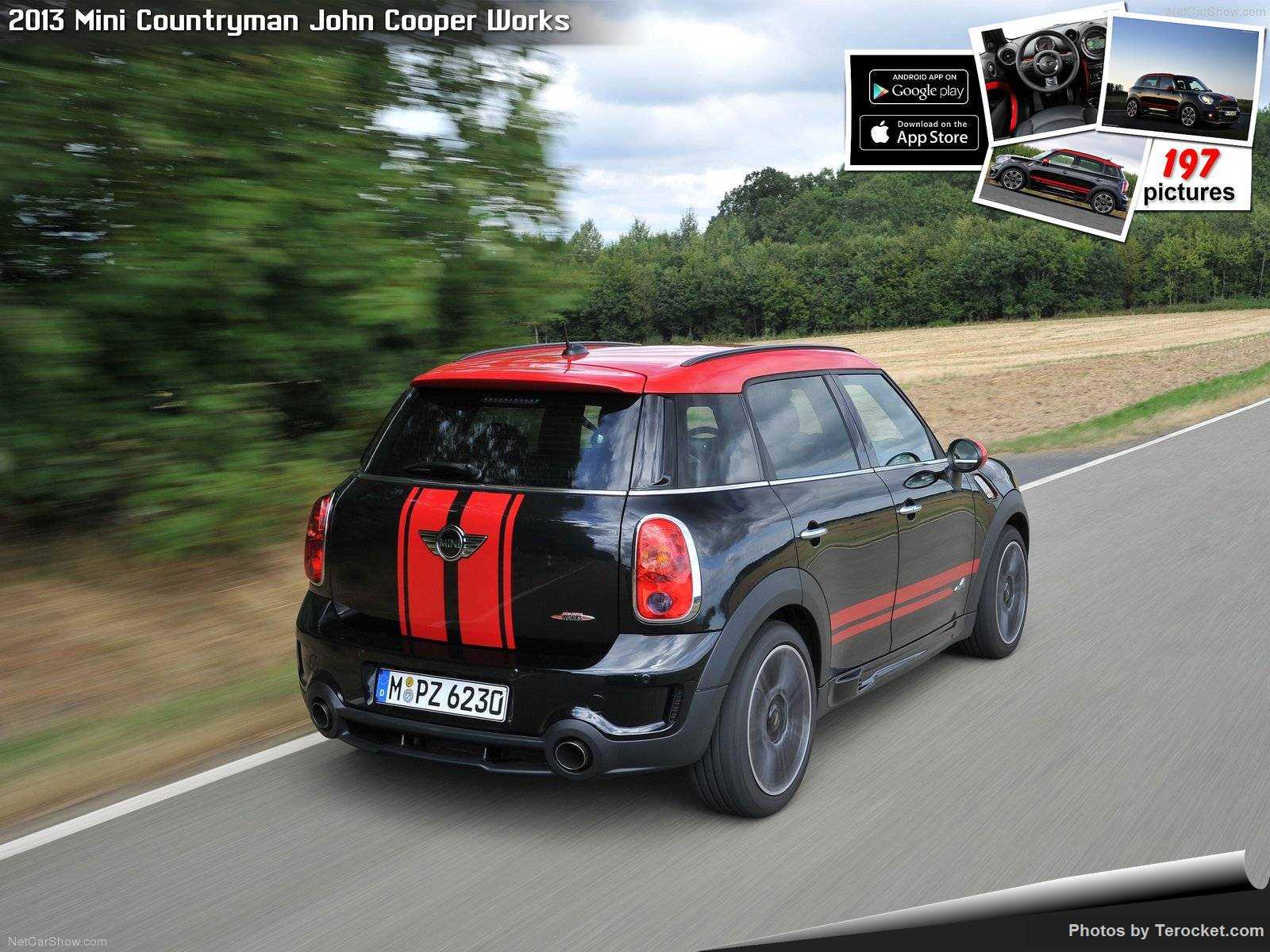 Hình ảnh xe ô tô Mini Countryman John Cooper Works 2013 & nội ngoại thất