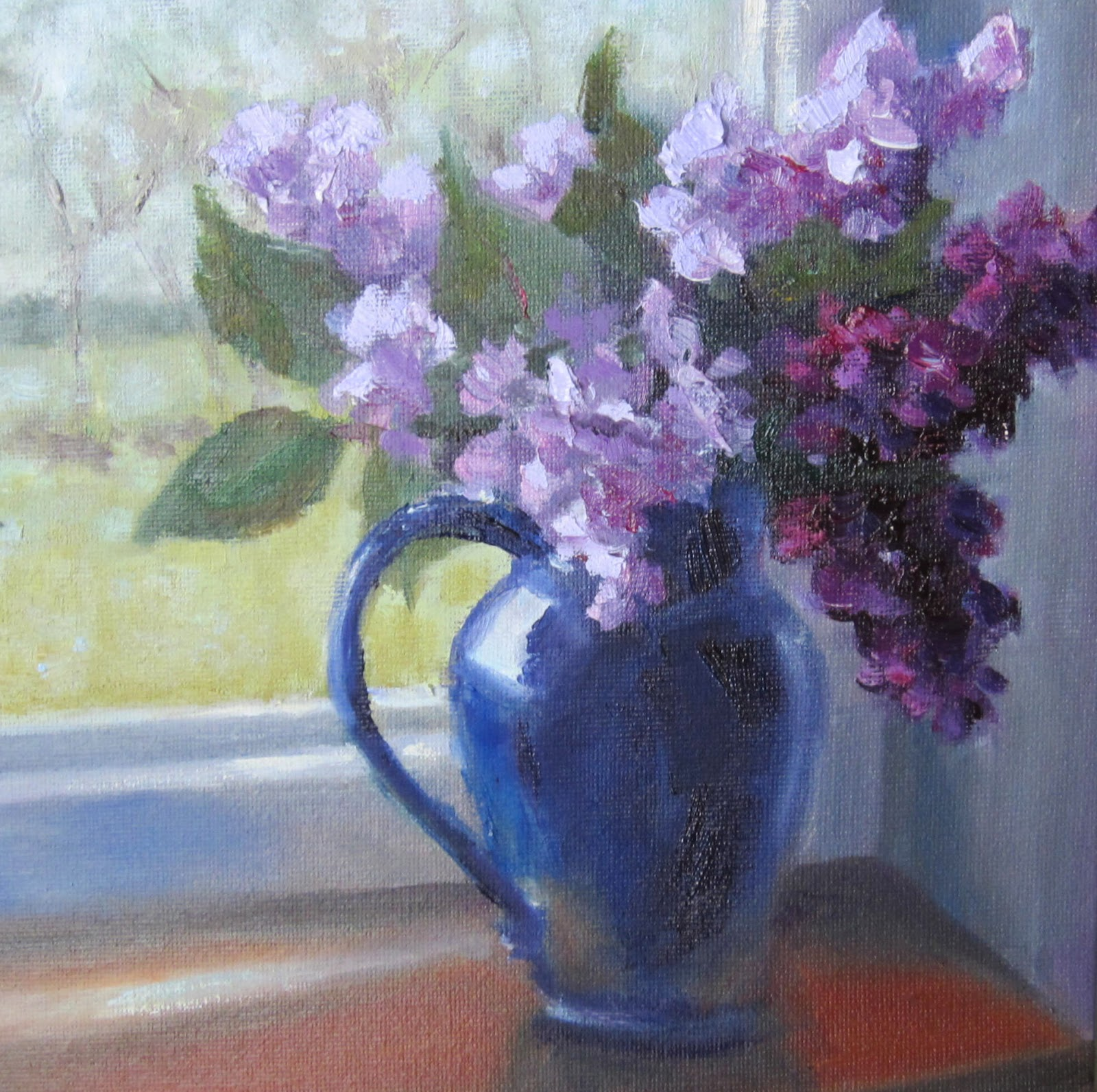 Pat Fiorello Art Elevates Life Lilacs Of France