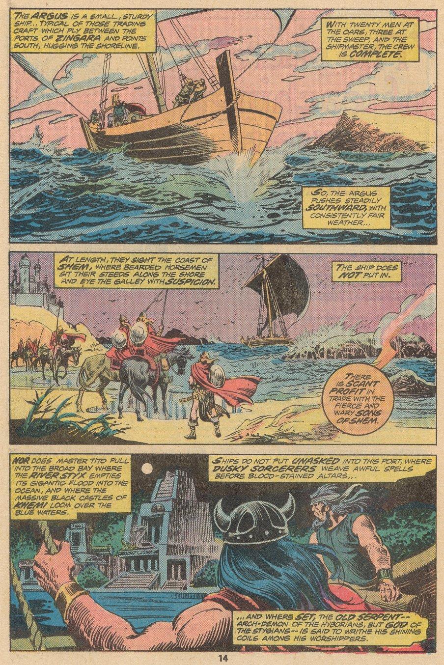 Conan the Barbarian (1970) Issue #58 #70 - English 9