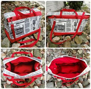 water repellent fabrics bag     wesens-art.blogspot.com