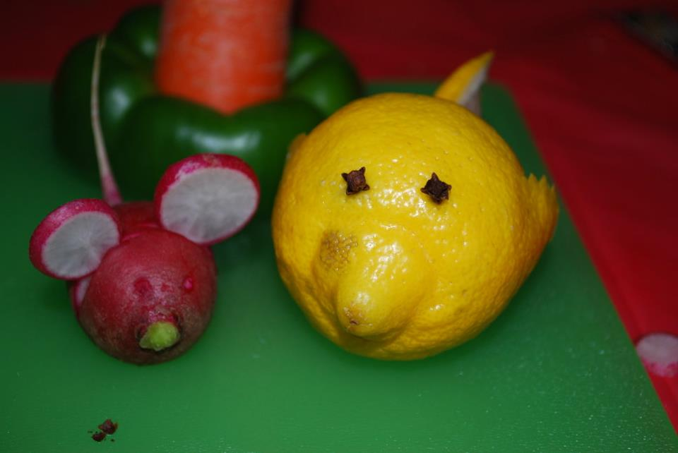 The Klever Krafter: Fruit and Vegetable Carving