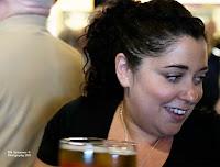 Trish, ever-cheerful drink dispenser