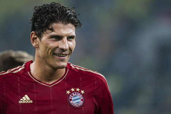 Mario Gómez scored 112 goals in 172 appearances for Bayern Munich from 2009 to 2013