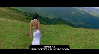 Shriya Saran navel and back