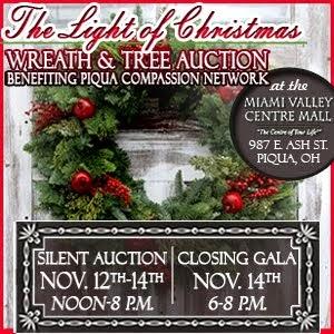 Wreath and Tree Auction thru Nov. 14