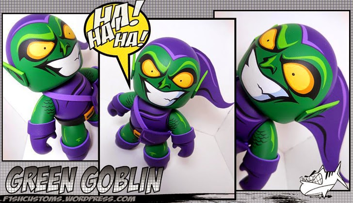 Green Goblin Mighty Muggs Customs