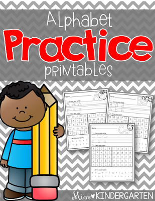 https://www.teacherspayteachers.com/Product/Alphabet-Printables-1480817