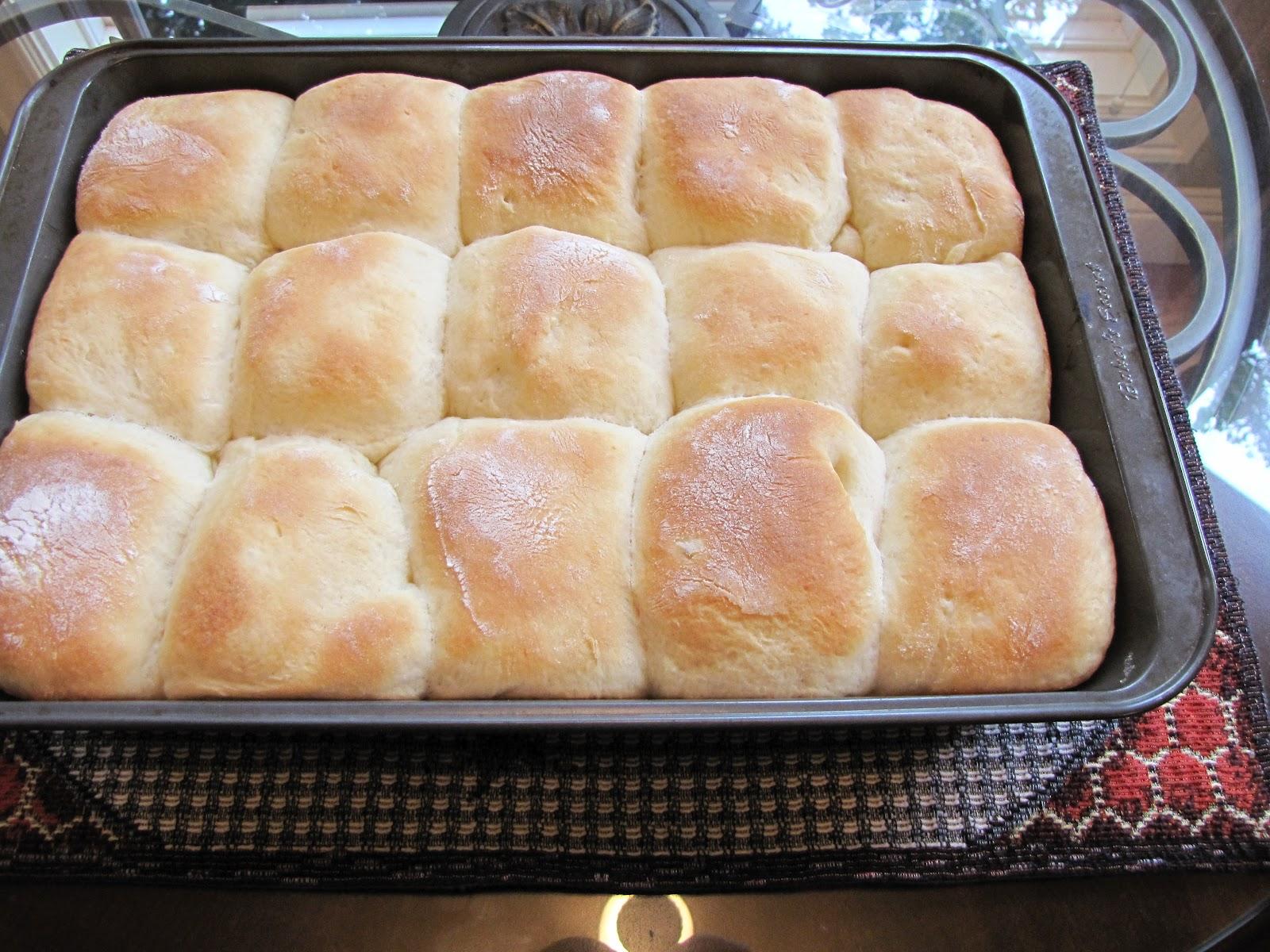 Granny Mountain: Best Potato Rolls Ever!