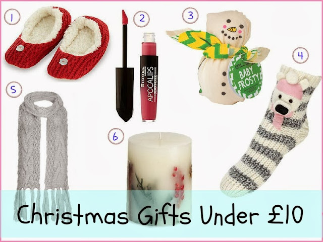 Christmas Gifts Under £10