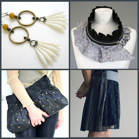 Unique Eco-friendly Handmade Fashion Clothing, Accessories and Jewelry from Bartinki