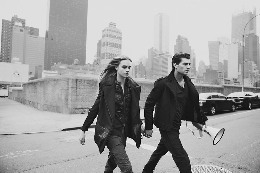 Paolo Anchisi & Cara Delevingne by Guy Aroch - Centrefold ... Cara Delevingne And Paolo Anchisi