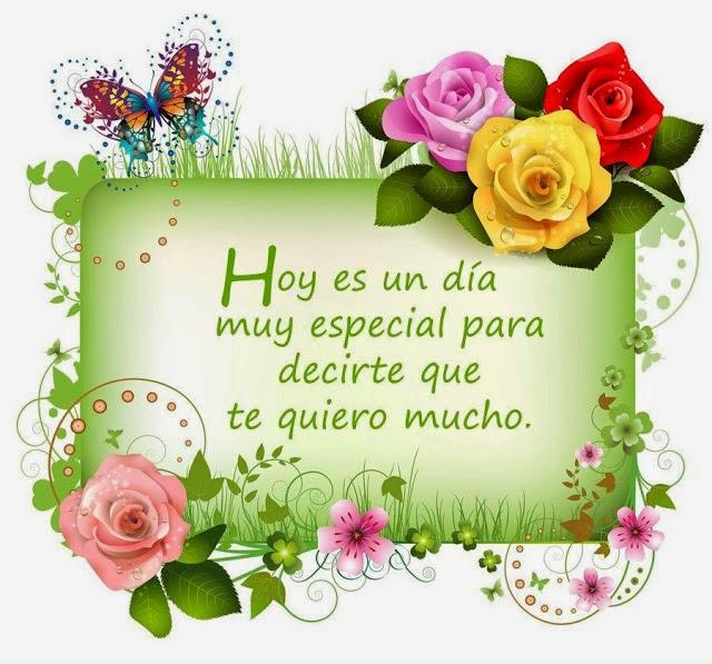 Frases De Feliz Día De La Madre: Hoy Es Un Día Muy Especial Para Decirte Que Te Quiero Mucho