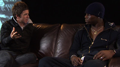 Mario Balotelli meets Noel Gallagher