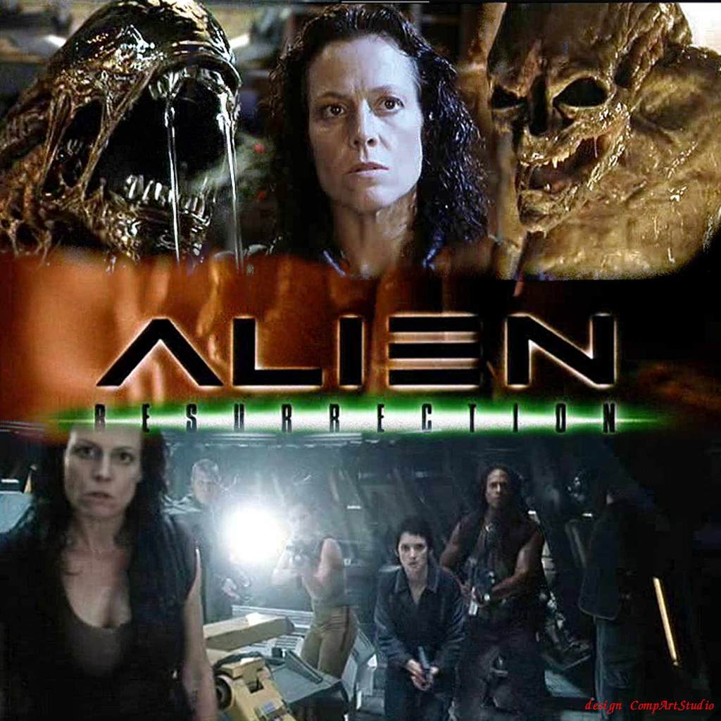 Alien resurrection (1997) - science fiction