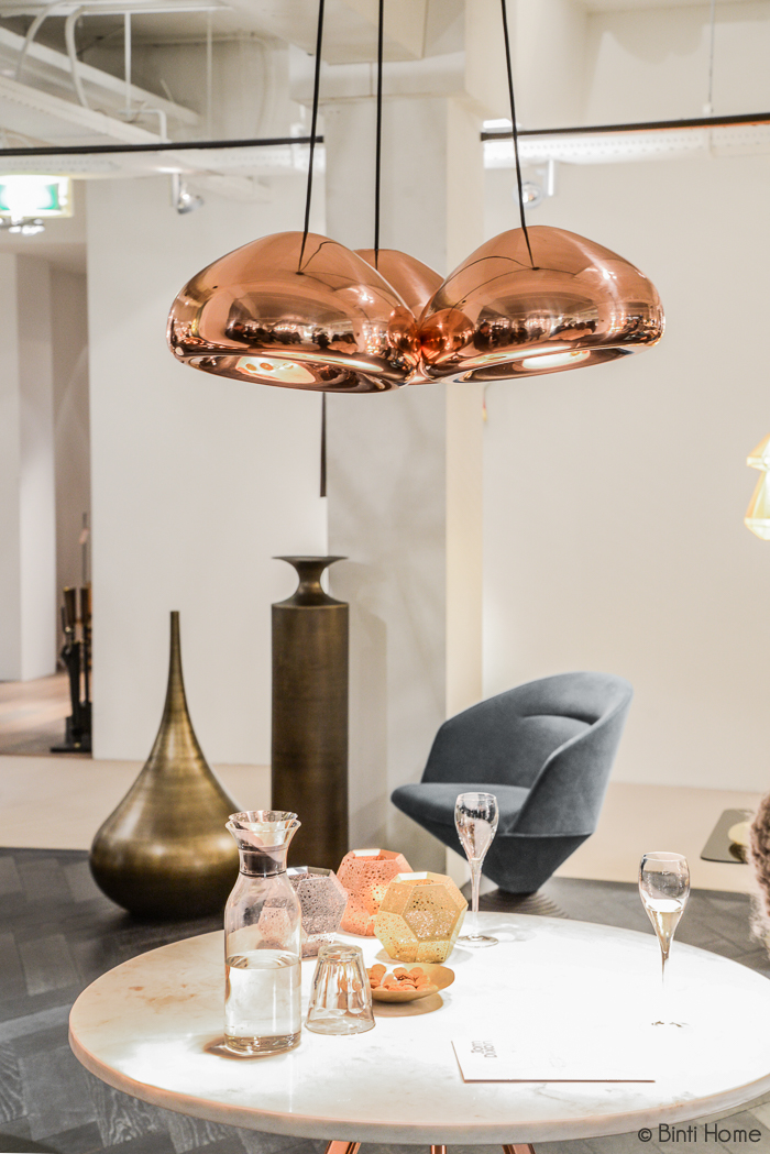 Void Copper lamp Tom Dixon Shop - Binti Home