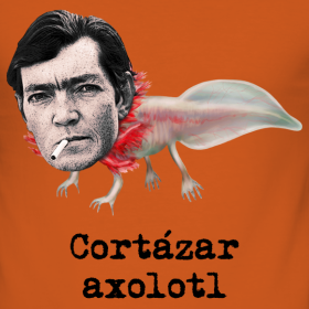 the literary effect of axolotl and the island at noon by julio cortazar