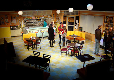 The Waffle Palace at Horizon Theatre, Post-performance Set