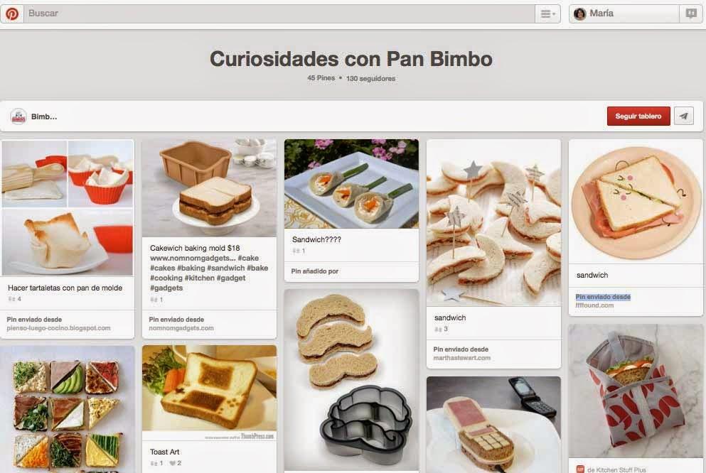 Bimbo España en Pinterest