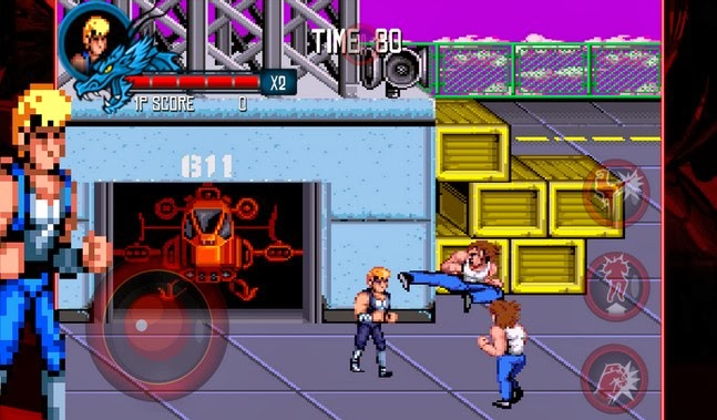 Double Dragon Trilogy android game apk - Screenshoot