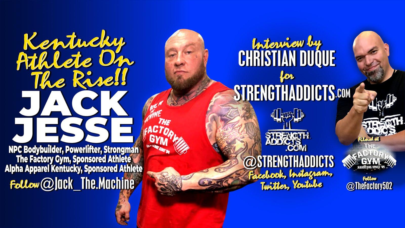 Jack Jesse - Strongman Champion