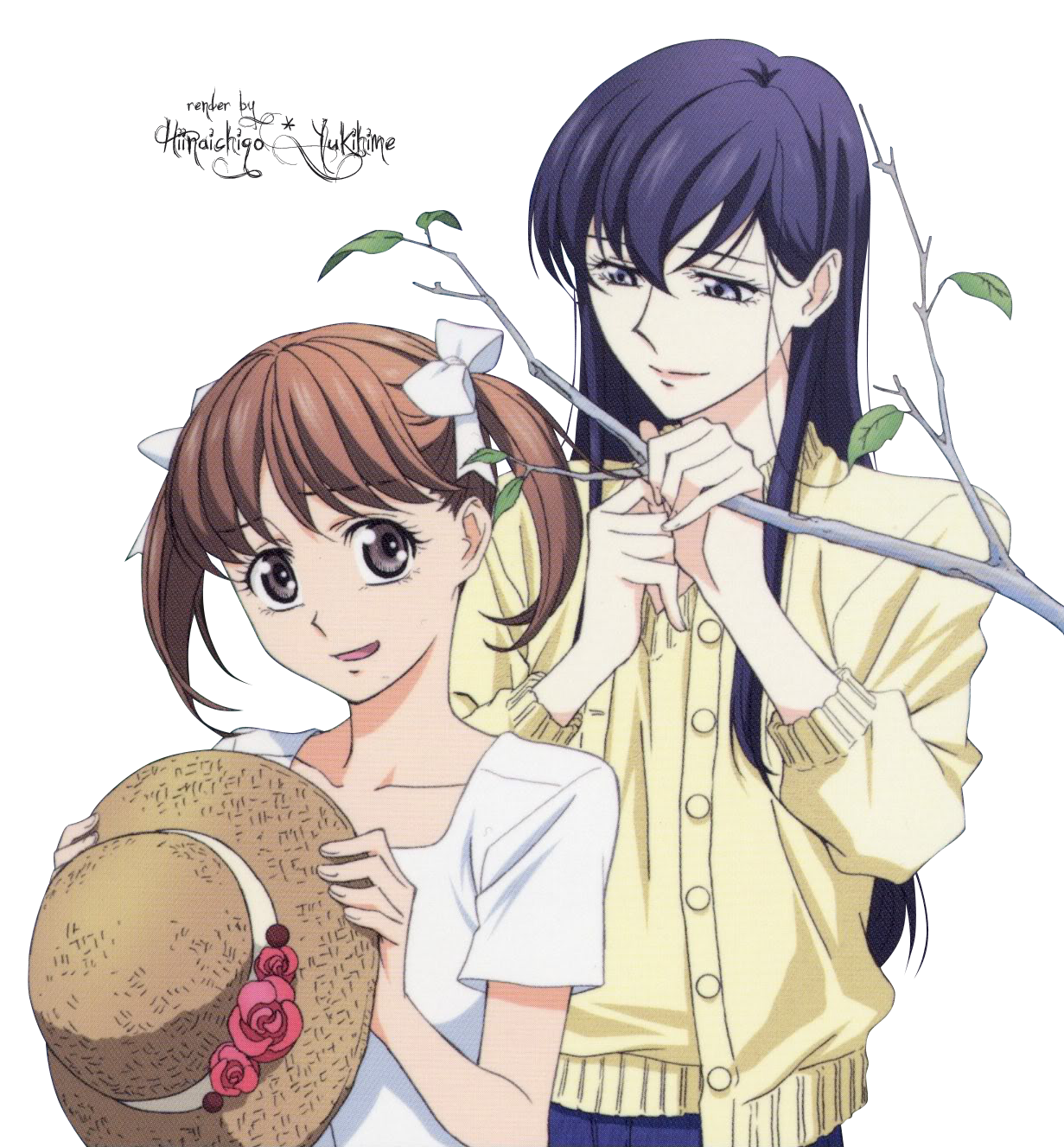 Render Yumi y Sachiko