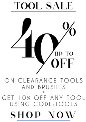 Styling Tools up to 40% off!