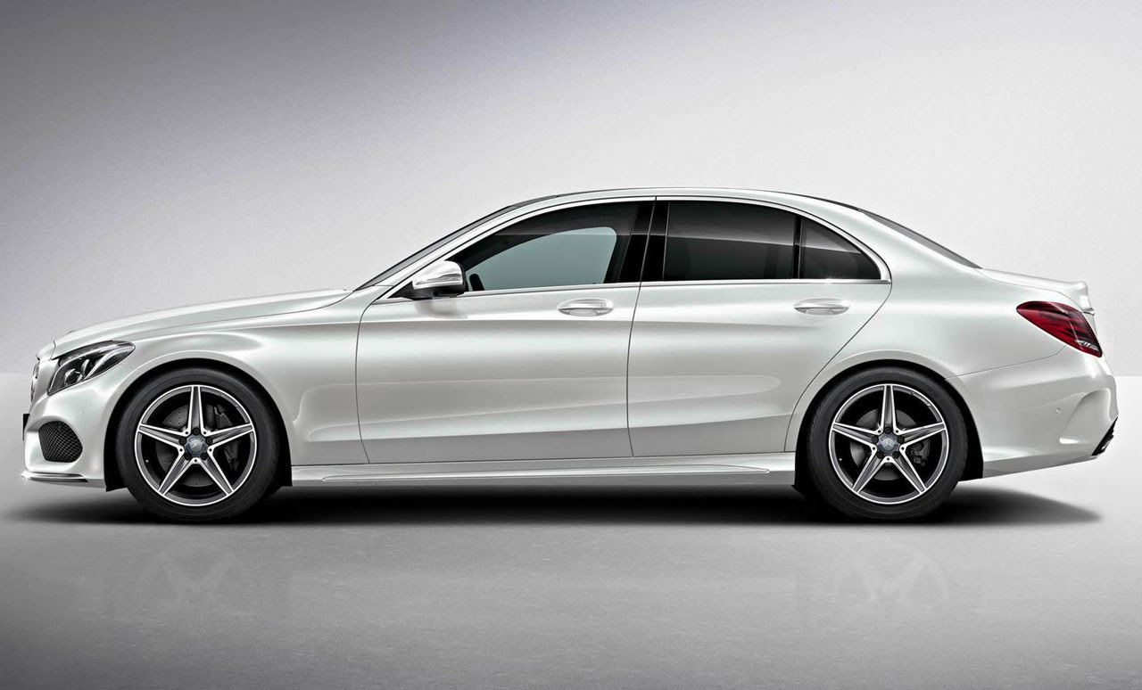 automotiveblogz 2015 mercedes benz c class amg line exterior pack photos. Black Bedroom Furniture Sets. Home Design Ideas