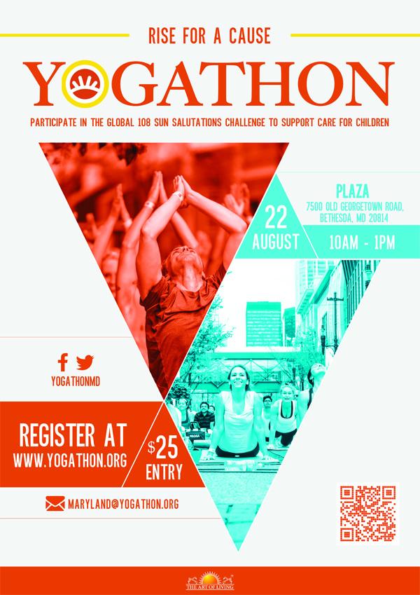 Yogathon, Yogathon Maryland, Yogathon Maryland 2015, yoga, namaste, yoga events, local yoga events, events, calendar, DMV events, yogis