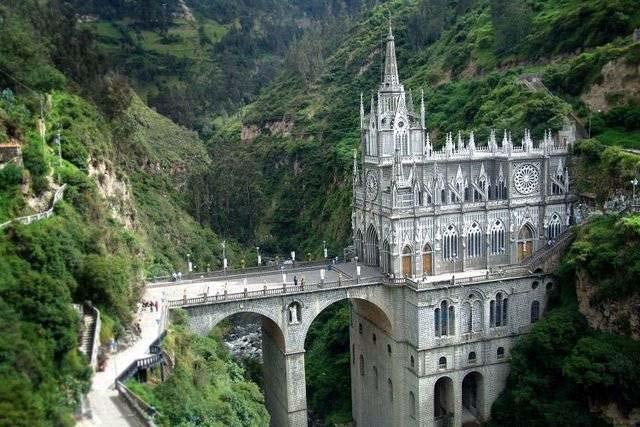 Santuário de Las Lajas - Colômbia