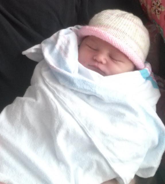 My niece Aurora Maria