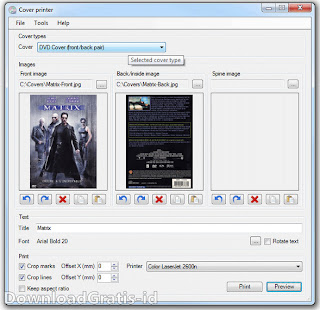 Software Gratis Untuk Membuat Desain Cover CD Dan DVD