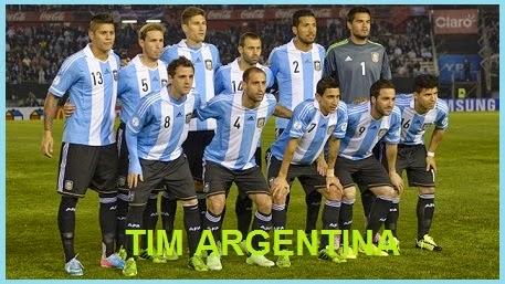 FINAL PIALA DUNIA 2014 TIMNAS ARGENTINA