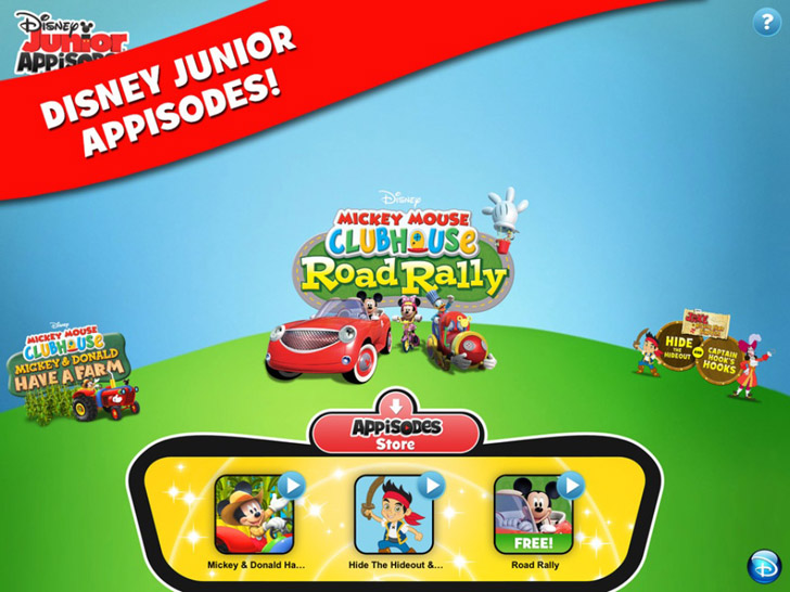 Disney Junior Appisodes App By Disney - FreeApps.ws