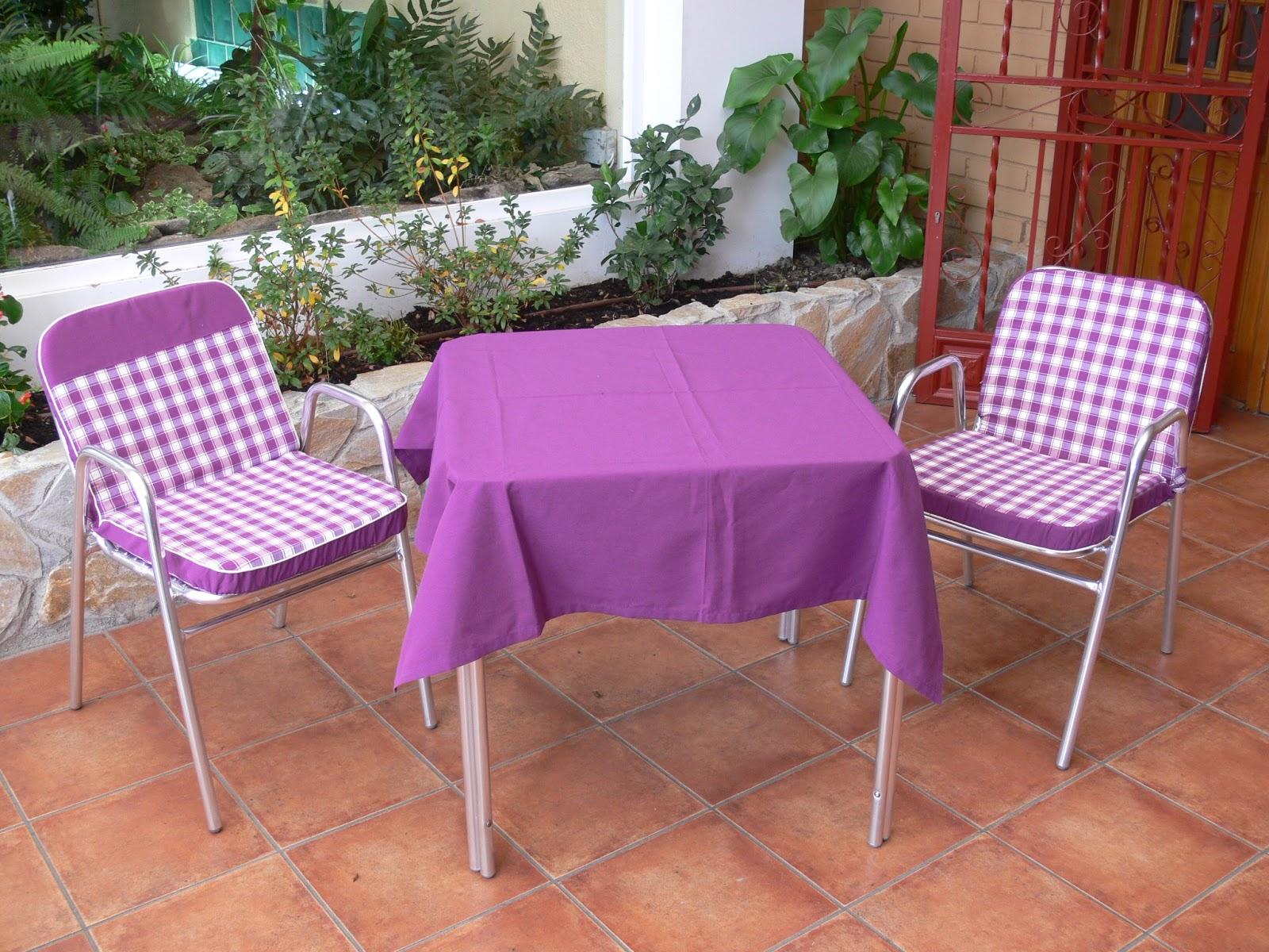 Creaciones mida michel dami cojines de terraza - Cojines para jardin ...