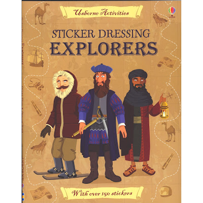 usborne explorers book