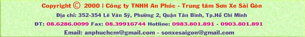 Trang Sơn Xe Sài Gòn