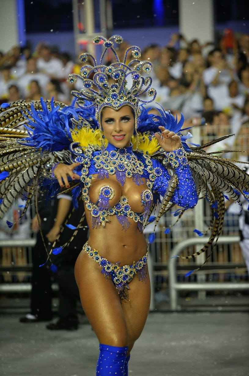 Carnival is celebrated in towns and villages throughout Brazil, but the festivities in Sao Paulo and capital Brasilia are the biggest - with around half a million foreign tourists flocking to the country every year.
