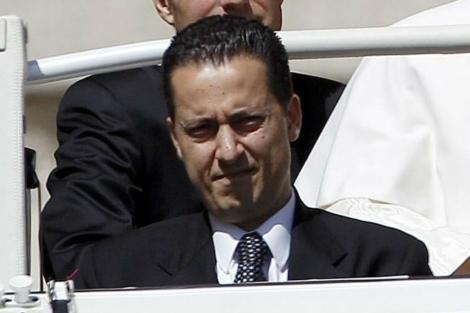 Foto: Reuters. Paolo Gabriele ... - papa%2Bmayordomo%2BPaolo%2BGabriele