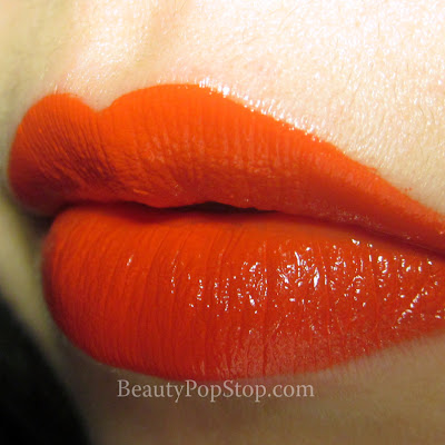 occ psycho lip tar swatch