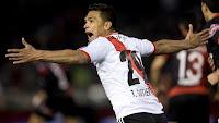 Teofilo Gutierrez, River Plate, Gol, Debut, Colon de Santa Fe,