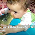Fish and A Baby Kisses Each Other – Incredible Video