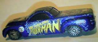 Side of Spider-Man 2000 Chevrolet SSR