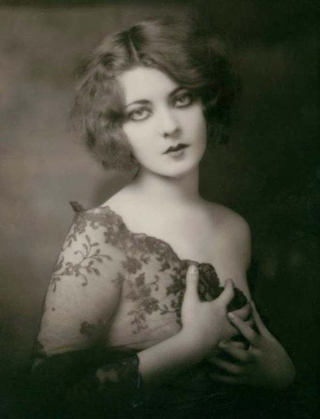 Marion bender a dancer from the ziegfeld theatre 1920s in lace