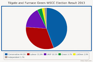 My West Sussex County Council Election Result 2013