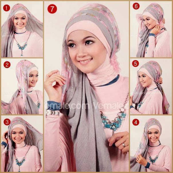 Hijab Tutorial Pashmina All About Hijab
