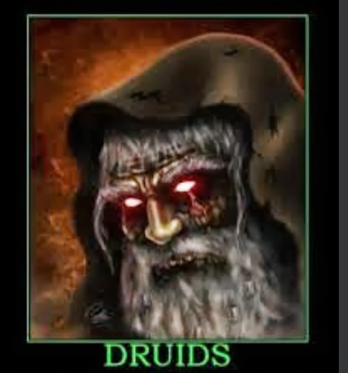 the big study  2000 years of smearing the druids