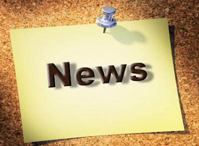 Cartaz com a palavra News: novidades do blog
