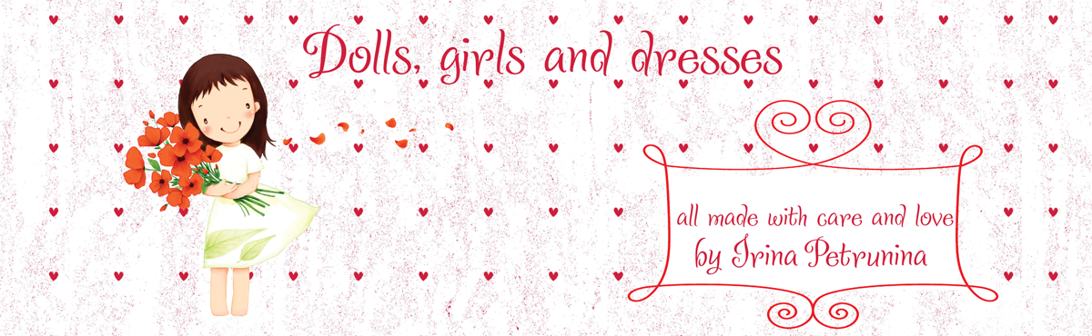 Dolls, girls and dresses