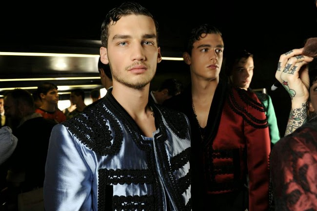 Backstage de Dolce & Gabbana SS15